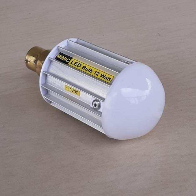 mimic substation 110vdc led bulb